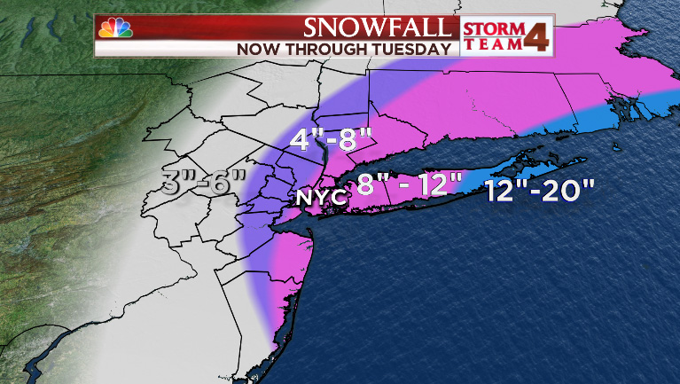 revised snow map 4am