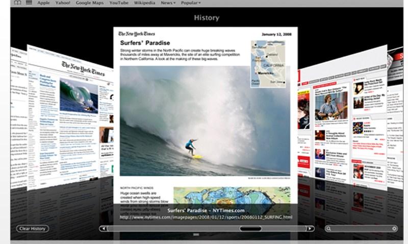 Safari Cover Flow