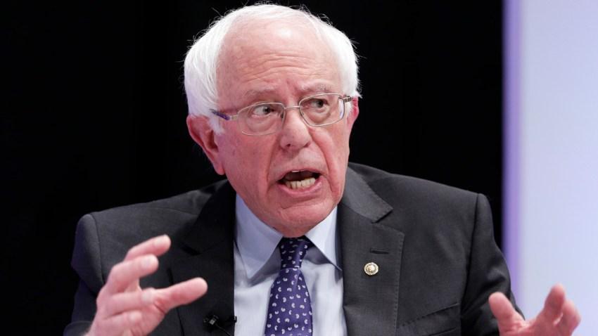 Election 2020 Sanders Biden