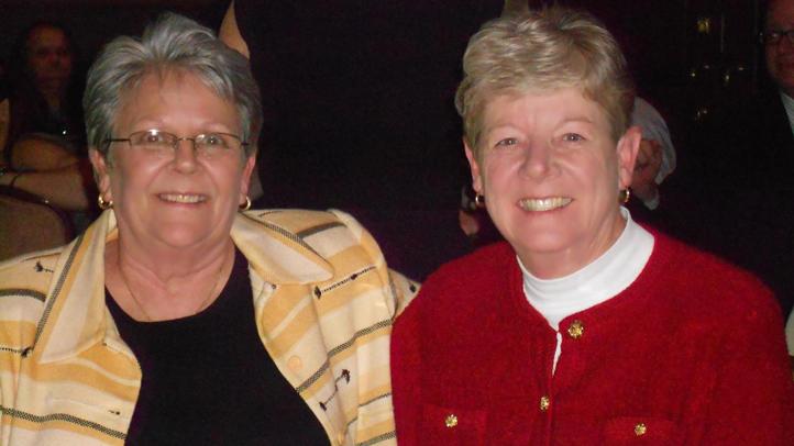 Vikki Bandy and Senator Karen Peterson