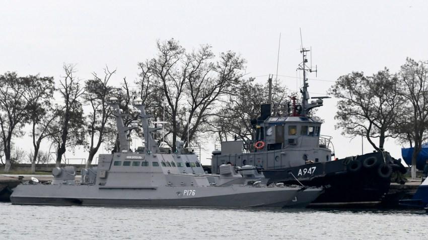 Ukraine Russia Ships
