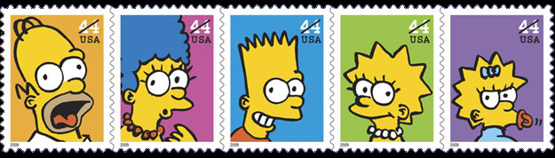 simpsons-stamp