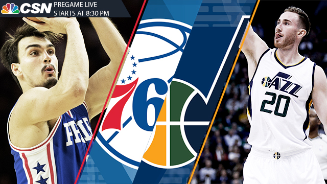 [CSNPhily] Sixers-Jazz 5 things: Keeping up with Gordon Hayward
