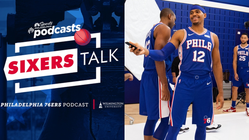 [CSNPhily] Sixers Talk podcast: Tobias Harris joins to talk pancakes, cars and missing Boban Marjanovic