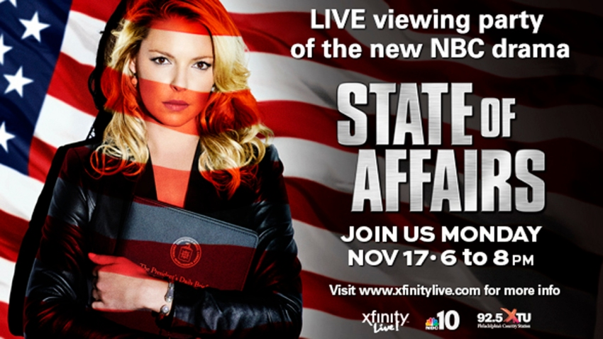 state of affairs xfinity live party
