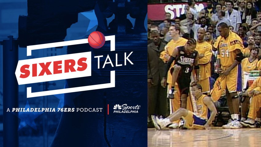 [CSNPhily] Sixers Talk Podcast: Where were you for AI's step over?