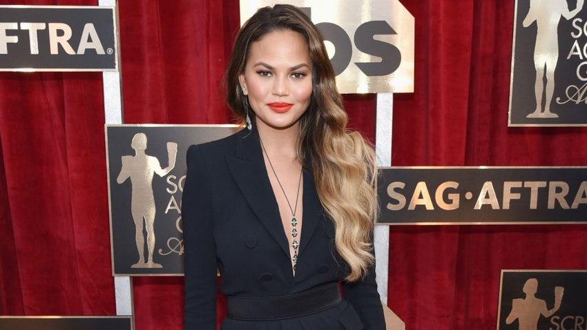 Chrissy Teigen attends The 23rd Annual Screen Actors Guild Awards at The Shrine Auditorium on January 29, 2017 in Los Angeles, California.