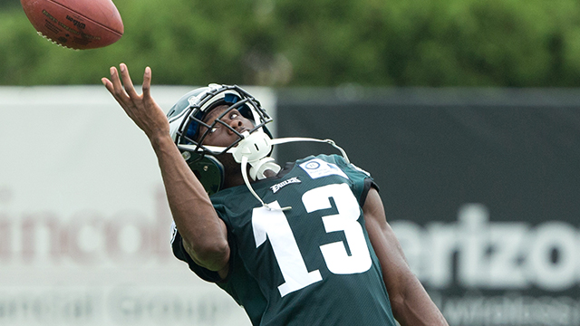 [CSNPhily] Eagles training camp Day 7 observations: Fan favorite ... Nelson Agholor?
