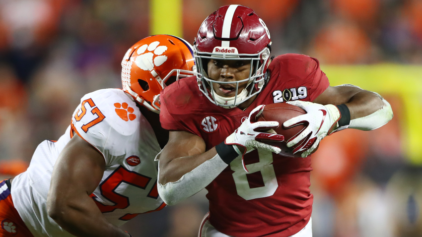 [CSNPhily] Eagles NFL draft options at No. 25: RB Josh Jacobs