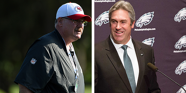 [CSNPhily] Traces of Andy Reid linger in Doug Pederson's 'physical' training camp philosophy