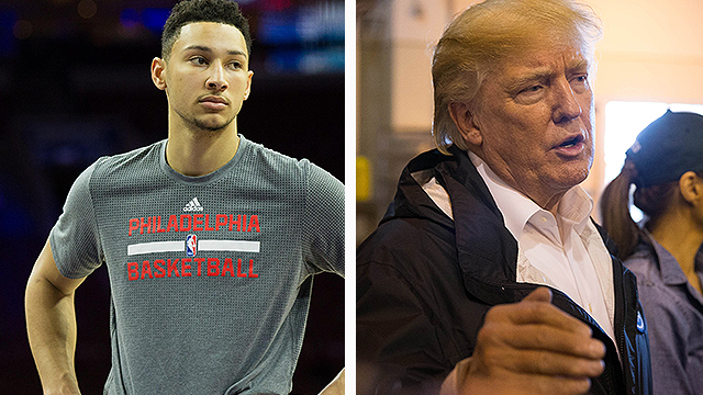 [CSNPhily] Ben Simmons: Kids need a president who motivates, leads the right way