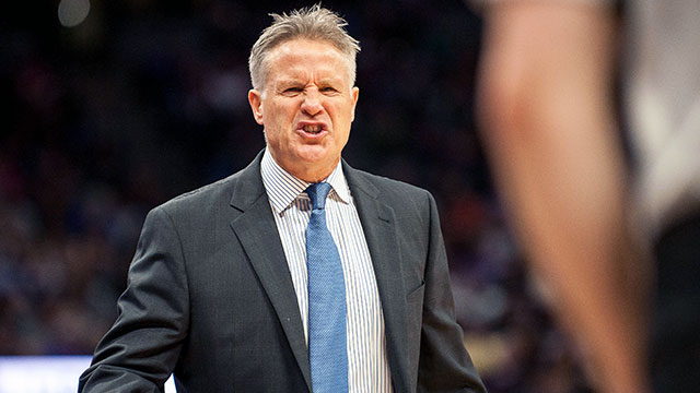 [CSNPhily] Brett Brown's dad quietly helps him dodge the deluge