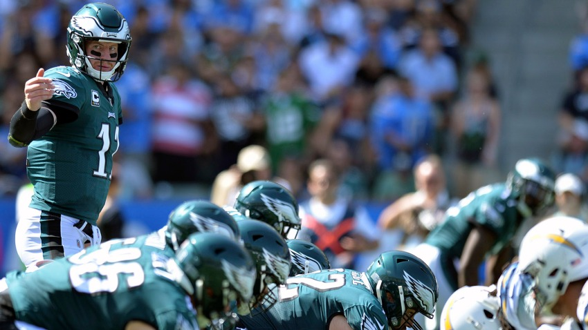 [CSNPhily] Carson Wentz's audibles, pre-snap reads reminiscent of Peyton Manning