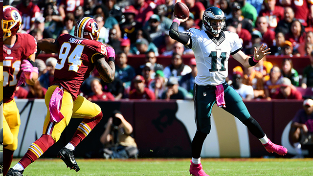 [CSNPhily] Redskins 27, Eagles 20: Evaluating Carson Wentz