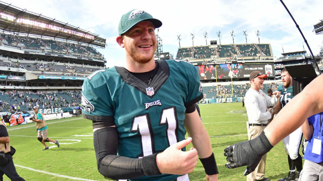 [CSNPhily] Carson Wentz has highest-selling jersey since NFL debut