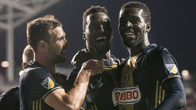 [CSNPhily] 'Stars were in perfect alignment' for Sapong, Union in first win of season