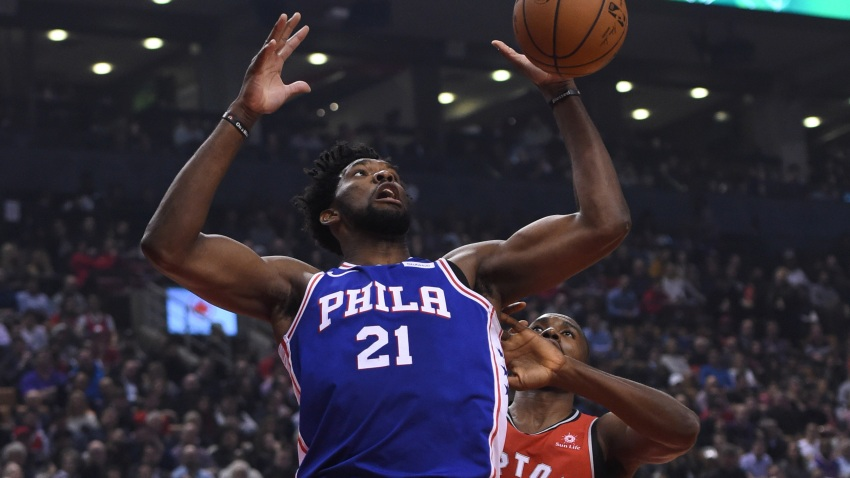 [CSNPhily] Joel Embiid's struggles continue in Sixers' loss to Raptors