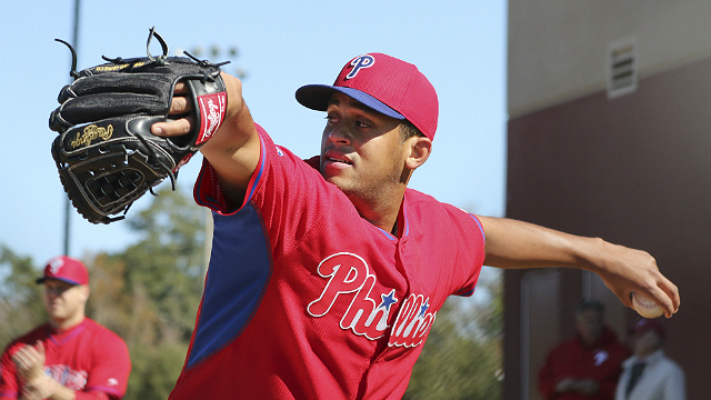 [CSNPhily] Phillies left-hander Mario Hollands outrighted to Double A Reading