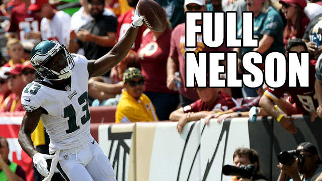 [CSNPhily] With it finally counting, Nelson Agholor legitimizes offseason reinvention in season opener