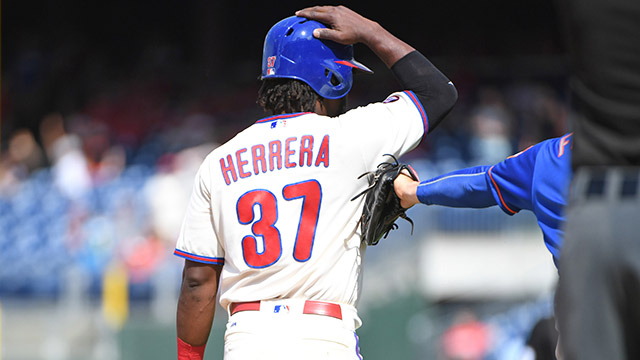 [CSNPhily] Despite another baserunning mistake, Odubel Herrera 'more positive than negative'