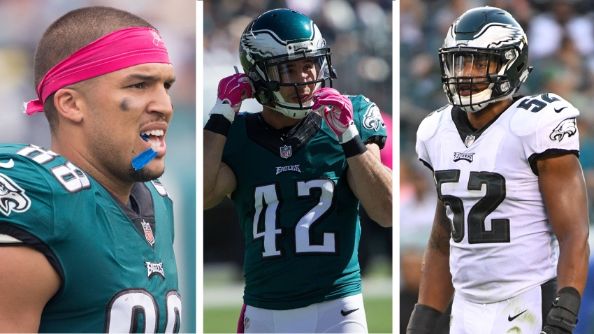 [CSNPhily] Getting over gut-punch loss of Chris Maragos no easy task for Eagles