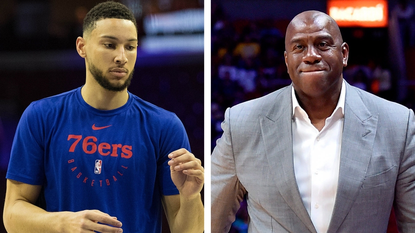 [CSNPhily] Ben Simmons wants to talk big guard skills with Magic Johnson