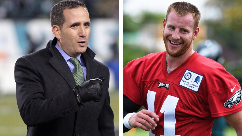 [CSNPhily] Howie Roseman explains rare circumstances that led to Carson Wentz contract