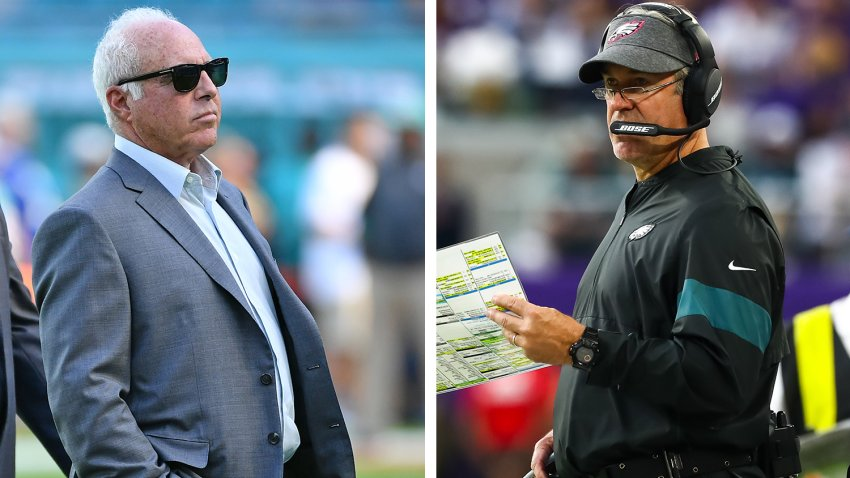 [CSNPhily] How long will Jeffrey Lurie give Doug Pederson to turn Eagles around?