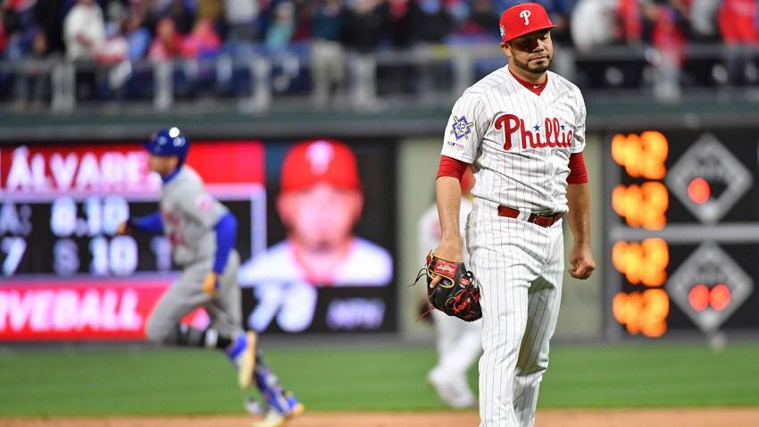 [CSNPhily] Mets 7, Phillies 6 (11 innings): Rhys Hoskins' error dooms Phils as Aaron Nola struggles again