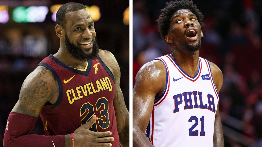 [CSNPhily] Joel Embiid wants to know if LeBron James is having second thoughts