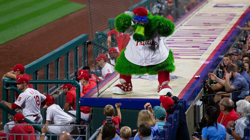 [CSNPhily] Phillies' biggest October battle involves the Phanatic
