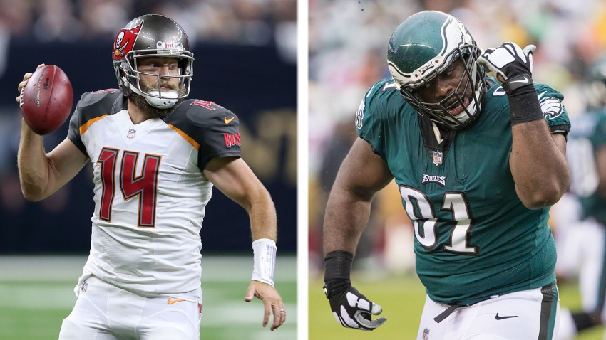 [CSNPhily] 5 matchups to watch as Eagles travel south to face Buccaneers