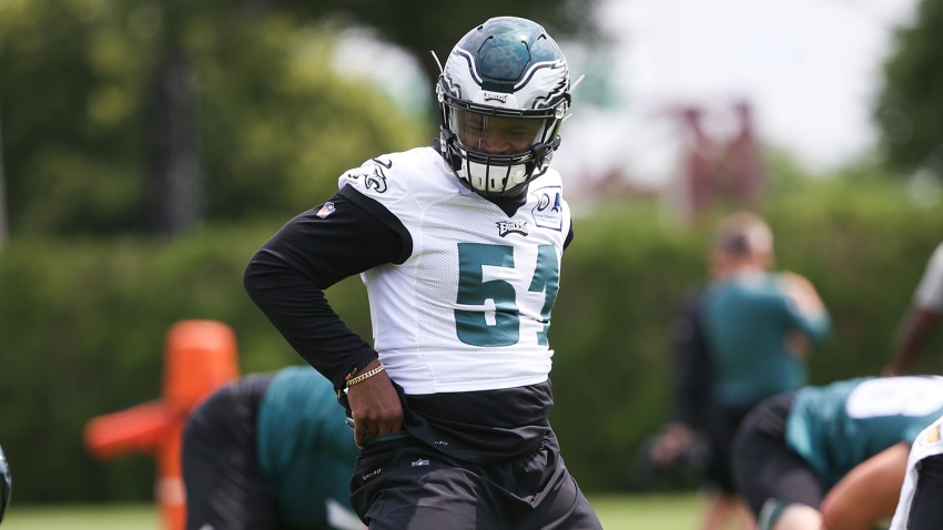 [CSNPhily] Stories of Eagles' jersey number changes after final cuts