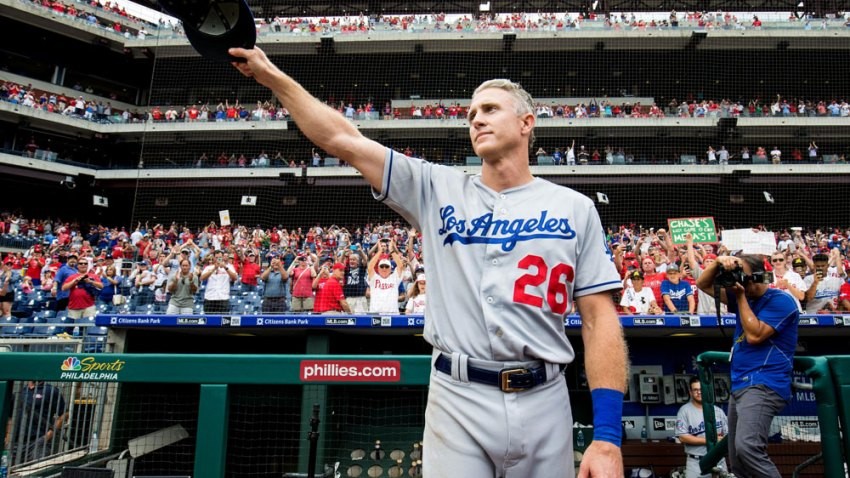[CSNPhily] Chase Utley gives Philly fans one final emotional goodbye