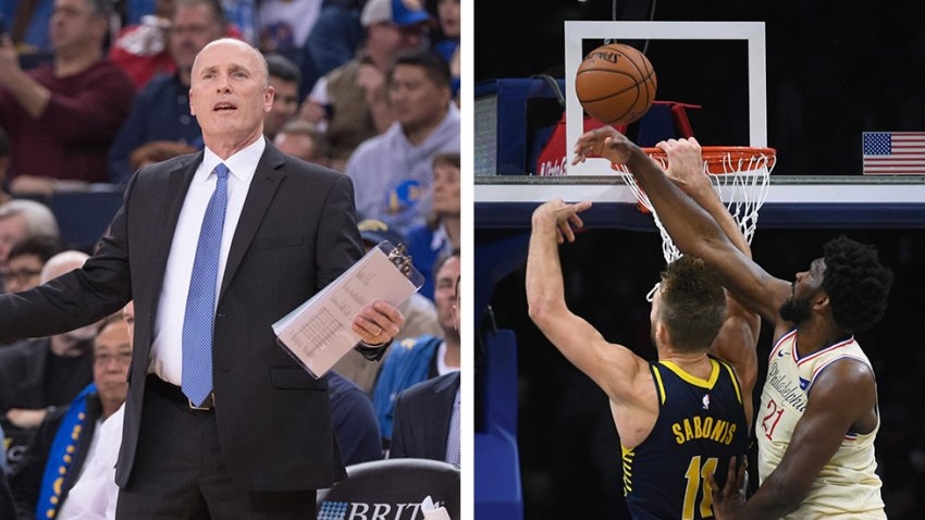 [CSNPhily] Indiana Pacers assistant coach talks smack on Joel Embiid