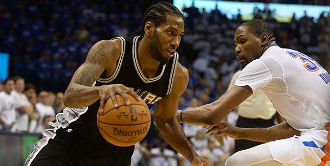 [CSNPhily] NBA Playoffs: Leonard scores 31 to help Spurs beat Thunder