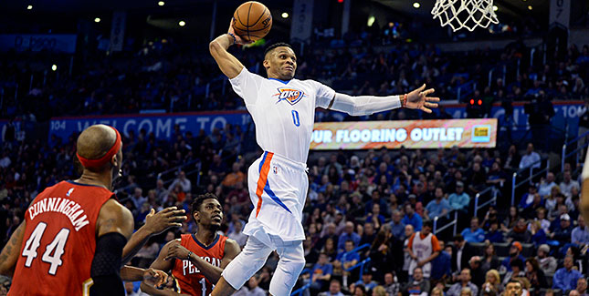 [CSNPhily] Best of NBA: Vicious Westbrook dunk gives Thunder last-second win