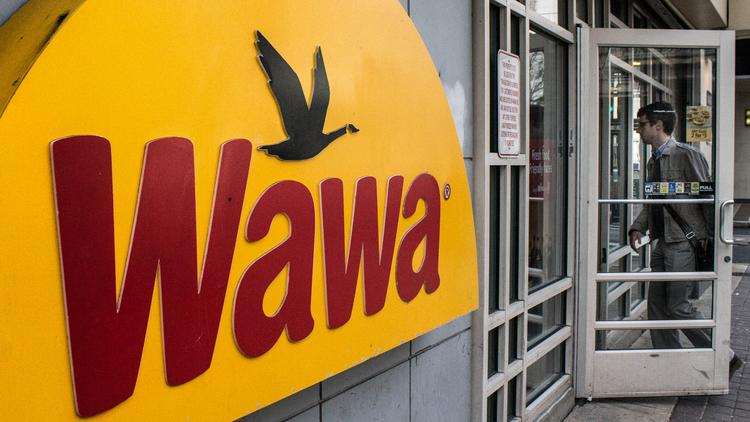 Wawa customer enters a convenience store