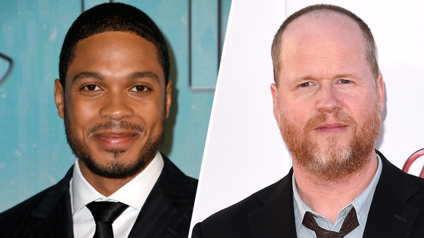 (Left) Ray Fisher. (Right) Joss Whedon.