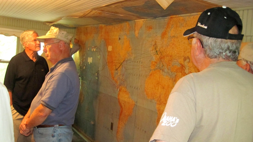 wwii garage map veteran submarine