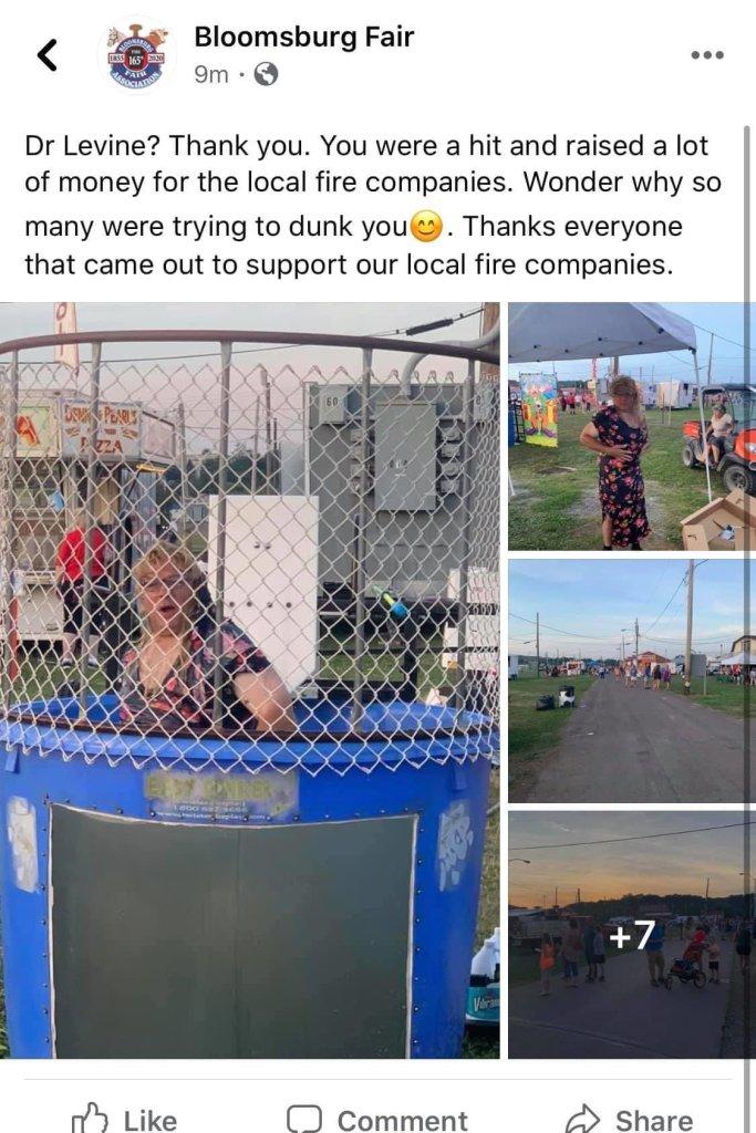 Screenshot of a post on Facebook