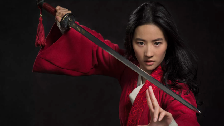 Liu Yifei as Mulan
