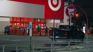entrance to Target store