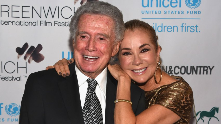 In this file photo, Regis Philbin and television host Kathie Lee Gifford attend Greenwich Film Festival 2015.