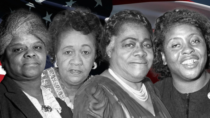 Ida B. Wells, Dorothy Height, Mary McCleod Bethune and Fannie Lou Hamer.