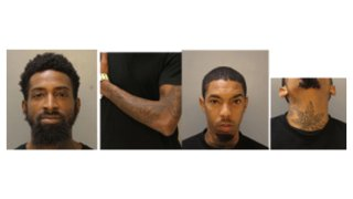 Pictures of suspects and their tattoos