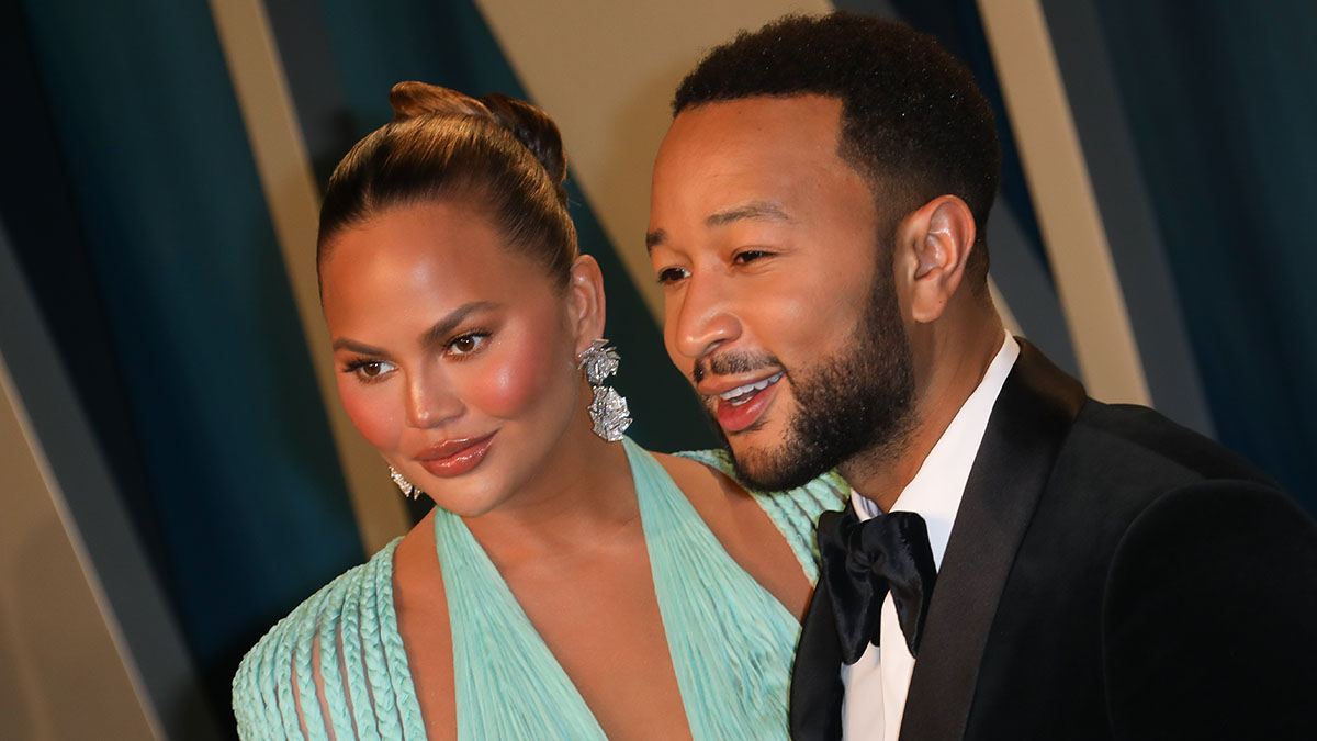 Chrissy Teigen Announces She's Pregnant With Baby No. 3 in John Legend's 'Wild' Music Video