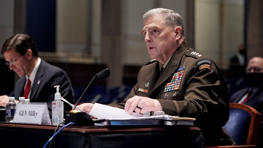 Chairman of the Joint Chiefs of Staff Gen. Mark Milley testifies
