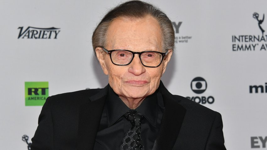 In this Nov. 20, 2017, file photo, Larry King attends the 45th International Emmy Awards at New York Hilton in New York City.