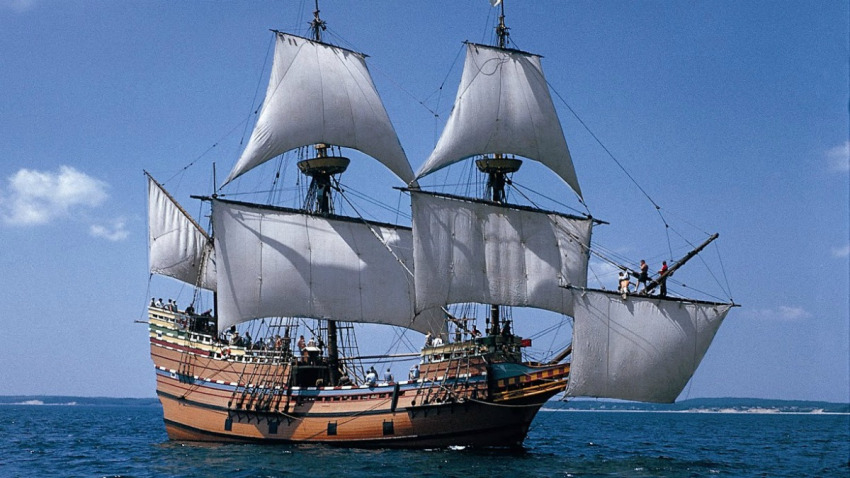 Some See Irony in Virus' Impact on Mayflower Commemoration
